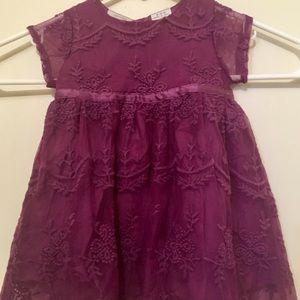 New Like Koala Kids Purple Dress